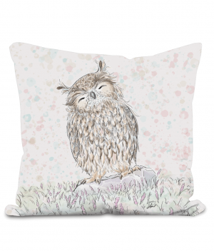 Happy Owl Cushion